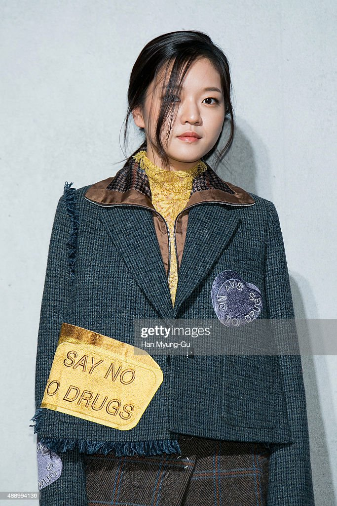South Korean actress Ko Ah-Sung aka Ko A-Sung attends the launch party for 'Acne Studio' flagship store on September 18, 2015 in Seoul, South Korea.