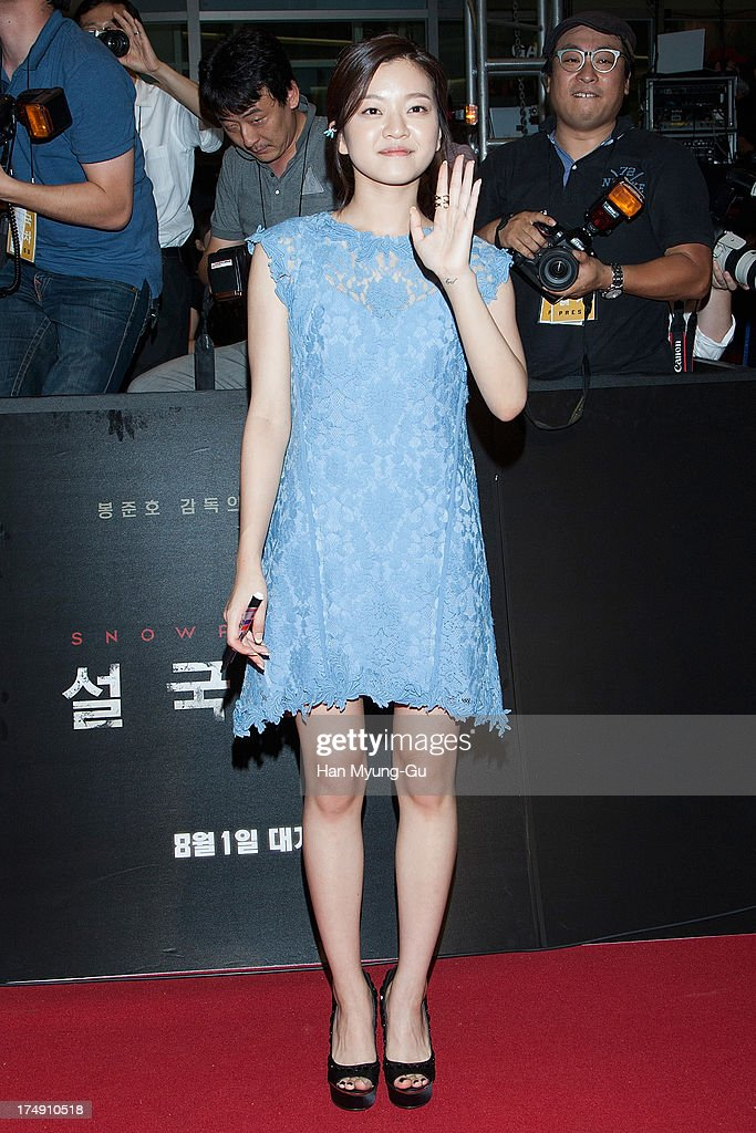 South Korean actress Ko A-Sung attends the 'Snowpiercer' South Korea premiere at Times Square on July 29, 2013 in Seoul, South Korea. The film will open on August 1, in South Korea.