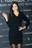 South Korean actress Kong HyunJoo attends during the Promotional event of 'Hyundai Motor Company' Premium Younique Lifestyle Auto Runway Show at...