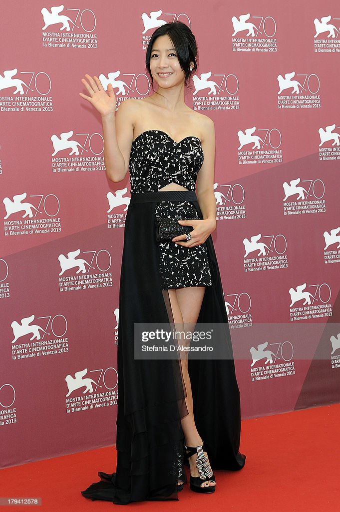 South Korean actress Lee Eun-woo attends 'Moebius' Photocall during the 70th Venice International Film Festival at Palazzo del Casino on September 3, 2013 in Venice, Italy.
