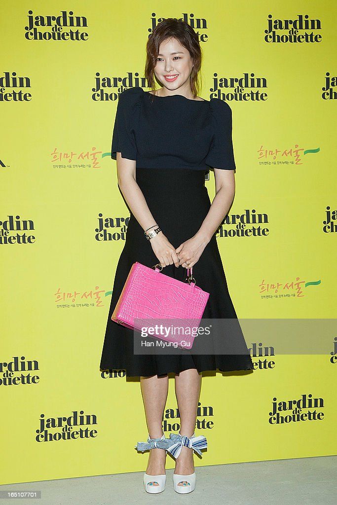 South Korean actress Lee Ha-Nee attends the 'Jardin De Chouette' Collection on March 29, 2013 in Seoul, South Korea.