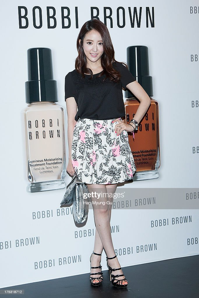 South Korean actress Lee Se-Eun attends a promotional event for the 'Bobbi Brown' Pop Up Lounge Opening Party on August 2, 2013 in Seoul, South Korea.