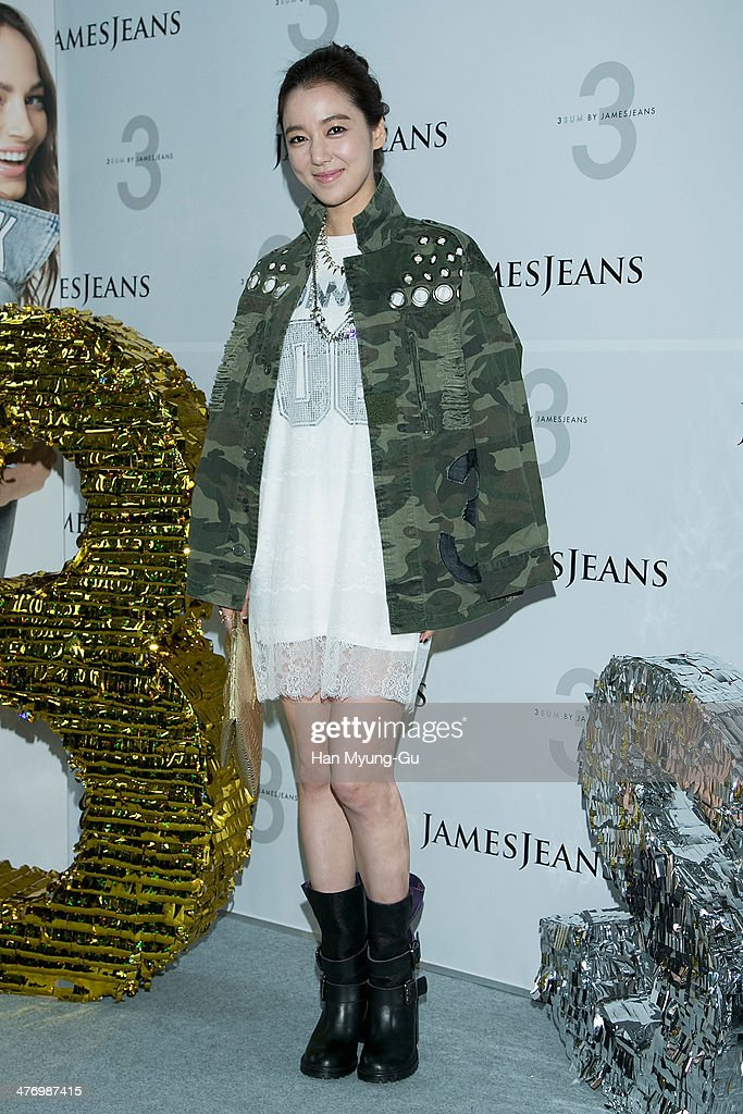 South Korean actress Lee So-Yeon attends the 3 SUM By 'JamesJeans' Launch Party at JamesJeans flagship store on March 6, 2014 in Seoul, South Korea.