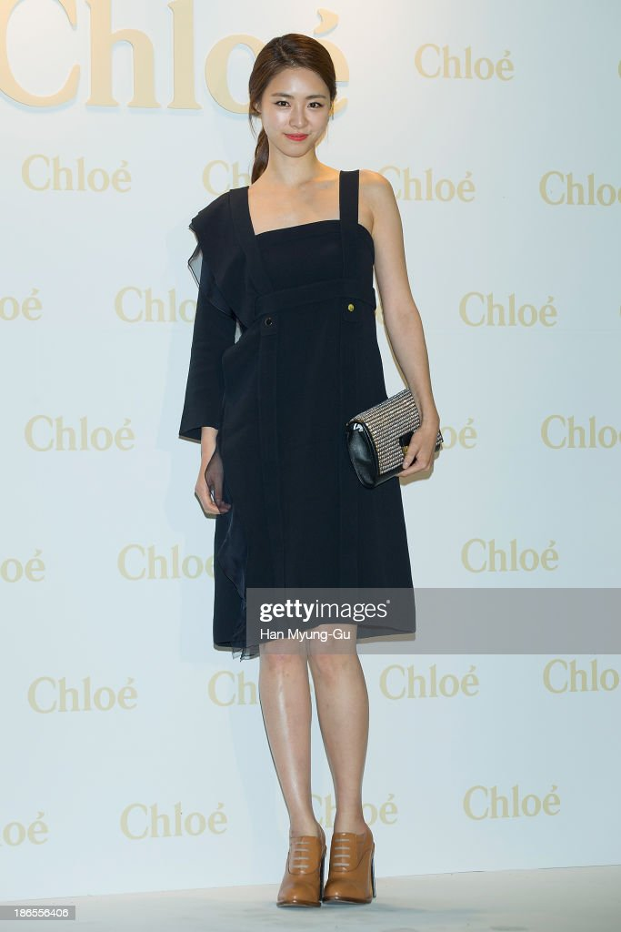 South Korean actress Lee Yeon-Hee attends 'Chloe' flagship store grand opening event at Chloe Gangnam Store on November 1, 2013 in Seoul, South Korea.