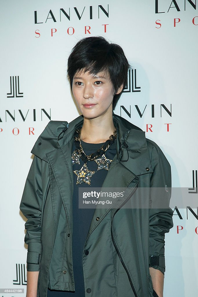 South Korean actress Lee Young-Jin attends 'Lanvin Sport' FW 2014 Grand Open on August 29, 2014 in Seoul, South Korea.