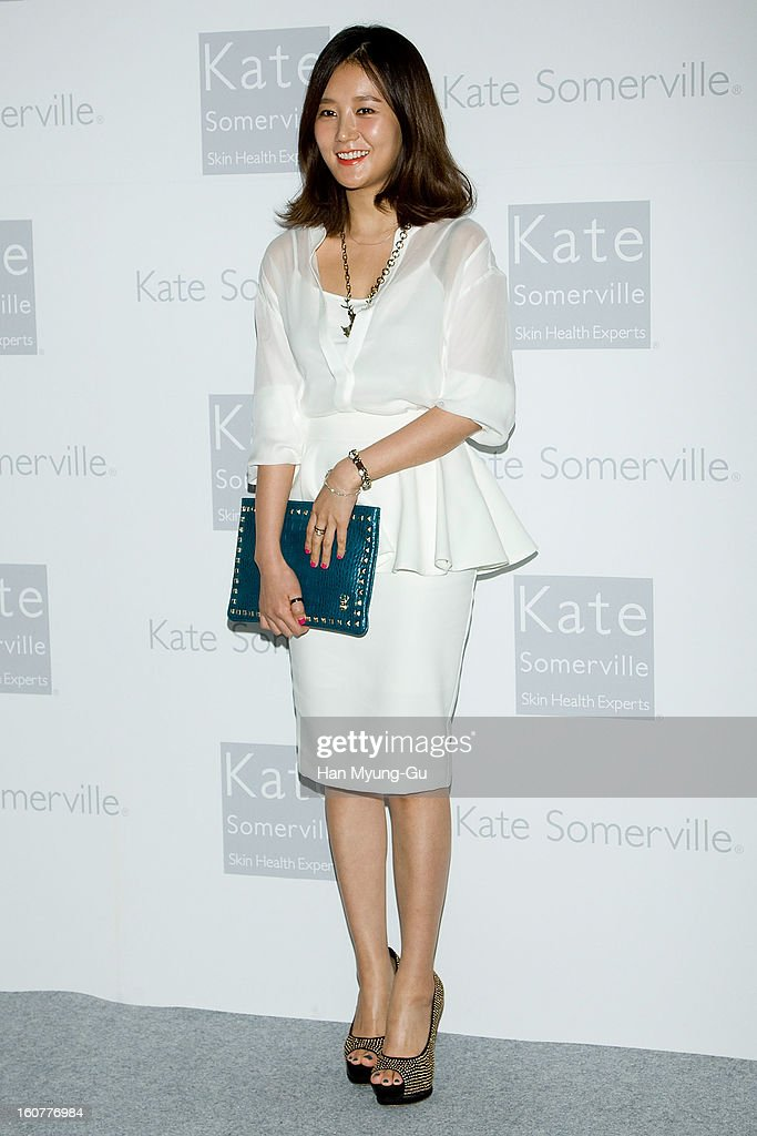 South Korean actress Lim Jung-Eun attends the Kate Somerville Skin Care launching at Park Hyatt Hotel on February 5, 2013 in Seoul, South Korea.