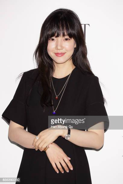 South Korean actress Lim SooJung attends the launch event for 'PIAGET' at Lotte Department Store on August 18 2017 in Seoul South Korea