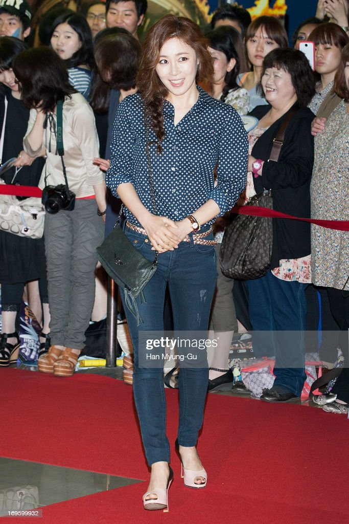 South Korean actress Moon Jung-Hee attends the 'Secretly Greatly' VIP Screening at Mega Box on May 27, 2013 in Seoul, South Korea. The film will open on June 05 in South Korea.