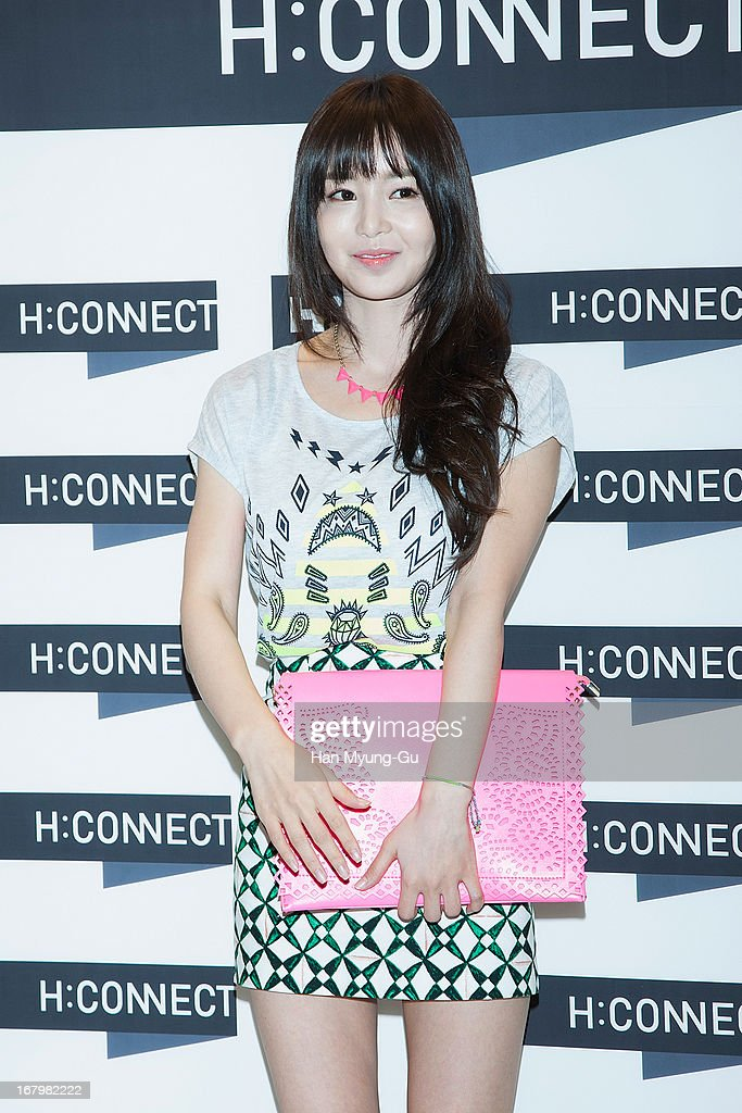 South Korean actress Nam Gyu-Ri attends a promotional event for the 'H:Connect' Gangnam Flagship Store Opening on May 3, 2013 in Seoul, South Korea.