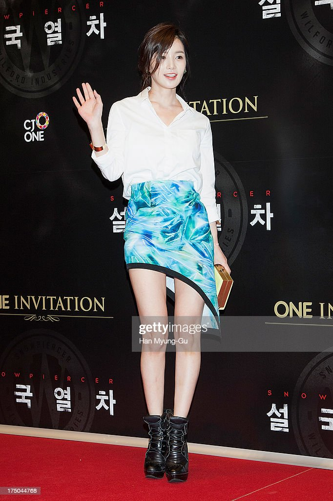 South Korean actress Nam Gyu-Ri attends the 'Snowpiercer' South Korea premiere at Times Square on July 29, 2013 in Seoul, South Korea. The film will open on August 1, in South Korea.