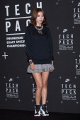 South Korean actress Oh YoonAh attends a promotional event for the NIKE 'Tech Pack' Showcase at Shilla Hotel on September 24 2013 in Seoul South Korea