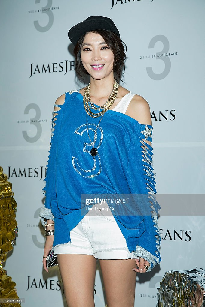 South Korean actress Oh Yoon-Ah attends the 3 SUM By 'JamesJeans' Launch Party at JamesJeans flagship store on March 6, 2014 in Seoul, South Korea.