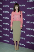 South Korean actress Oh YoonAh attends the launch party for the 'SISLEY' Black Rose Precious Face Oil at Shilla Hotel on July 22 2014 in Seoul South...