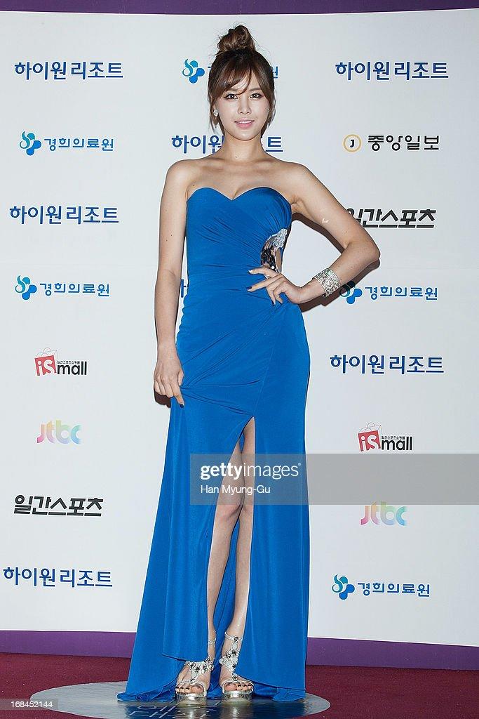 South Korean actress Park Eun-Ji attends the 49th Paeksang Arts Awards on May 9, 2013 in Seoul, South Korea.