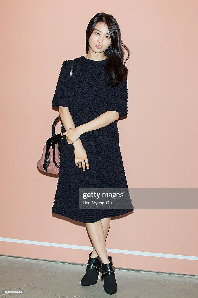South Korean actress Park Ha-Sun attends Chloe's perfume 'ROSES DE CHLOE EDT' launch party at Space Gallery on October 30, 2013 in Seoul, South Korea.