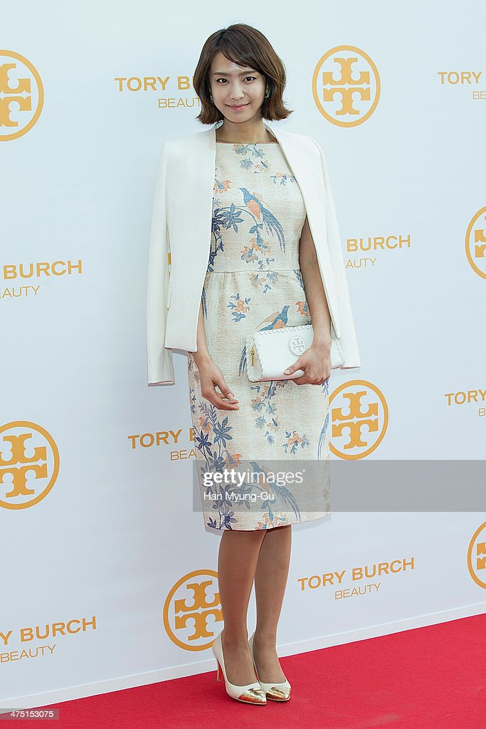 South Korean actress Park Jung-Ah attends 'Tory Burch' Eau De Parfum Launching Party at Tory Burch Flagship Store on February 26, 2014 in Seoul, South Korea.