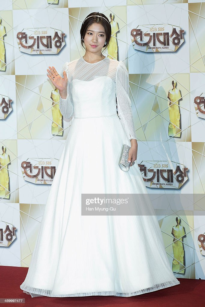 South Korean actress Park Shin-Hye attends the 2013 SBS Drama Awards at SBS on December 31, 2013 in Seoul, South Korea.