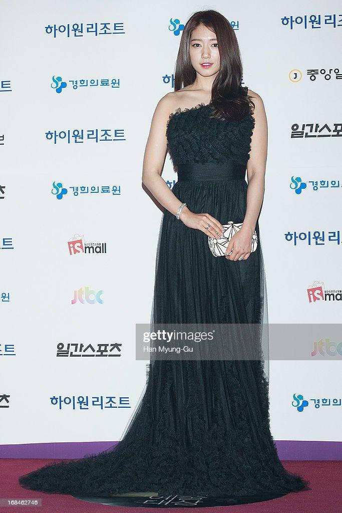 South Korean actress Park Shin-Hye attends the 49th Paeksang Arts Awards on May 9, 2013 in Seoul, South Korea.