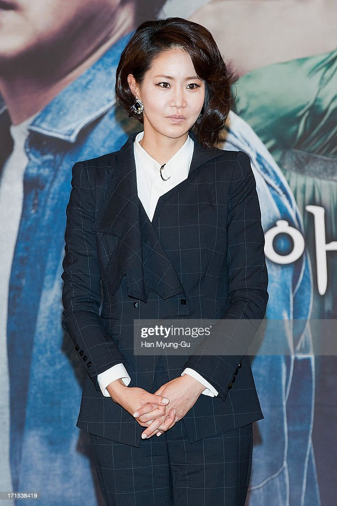 South Korean actress Shin Eun-Kyung attends during the MBC Drama 'Scandal' Press Conference on June 26, 2013 in Seoul, South Korea. The drama will open on June 29 in South Korea.