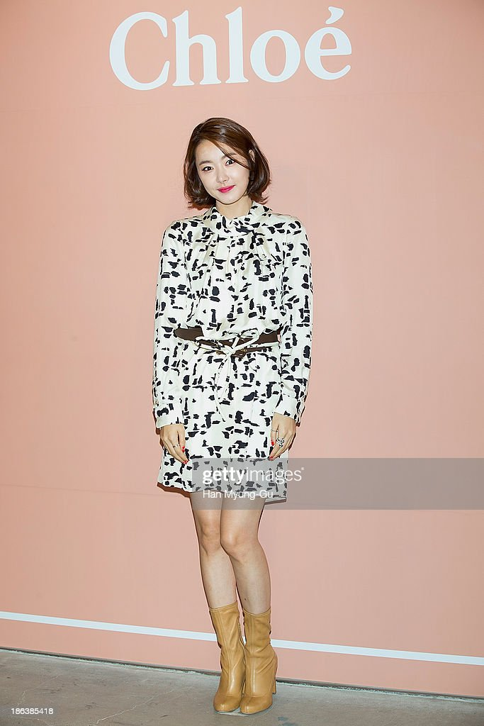 South Korean actress So E-Hyun attends Chloe's perfume 'ROSES DE CHLOE EDT' launch party at Space Gallery on October 30, 2013 in Seoul, South Korea.