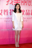 South Korean actress Song Hye Kyo attends a press conference on April 10 2011 in Beijing China