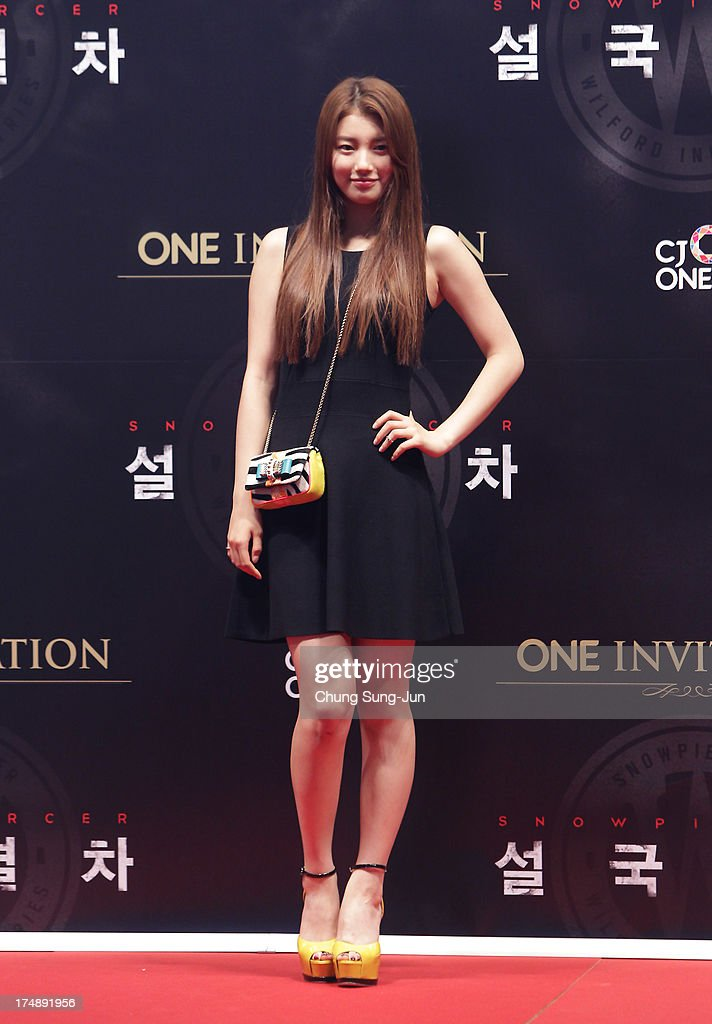 South Korean actress Suzy attends the 'Snowpiercer' South Korea premiere at Times Square on July 29, 2013 in Seoul, South Korea.