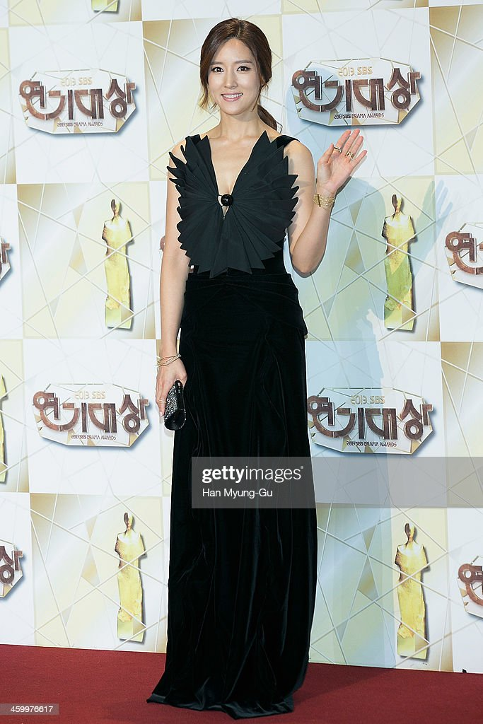 South Korean actress Wang Bit-Na attends the 2013 SBS Drama Awards at SBS on December 31, 2013 in Seoul, South Korea.
