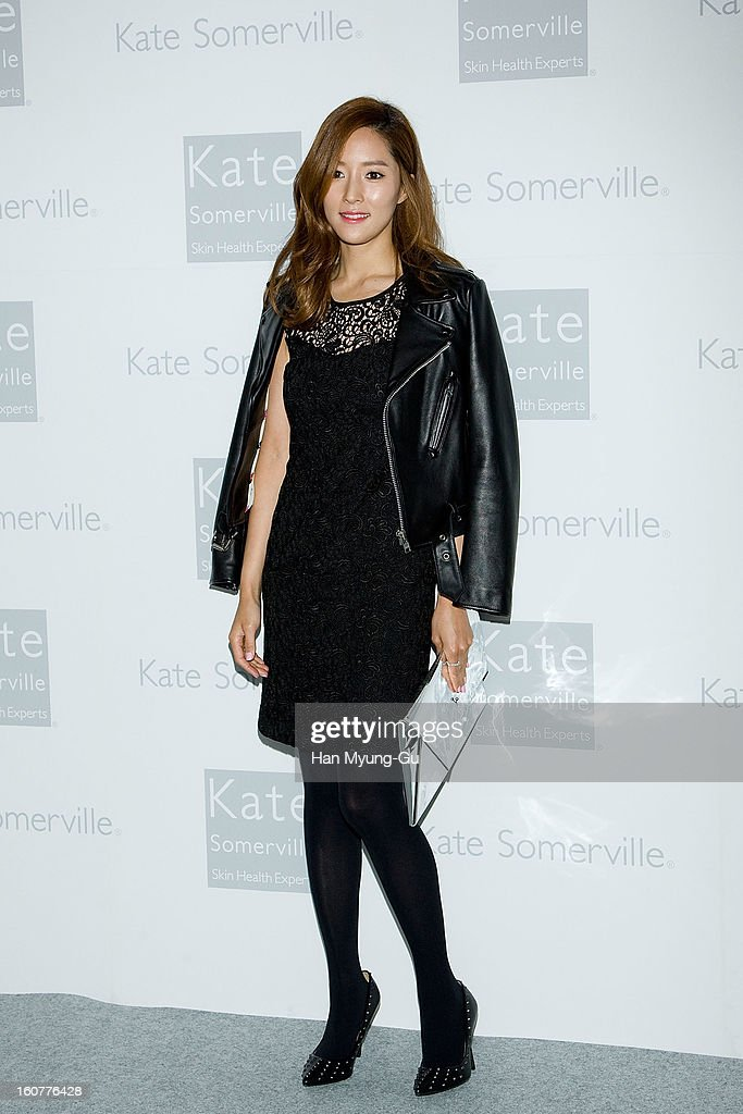 South Korean actress Wang Bit-Na attends the Kate Somerville Skin Care launching at Park Hyatt Hotel on February 5, 2013 in Seoul, South Korea.