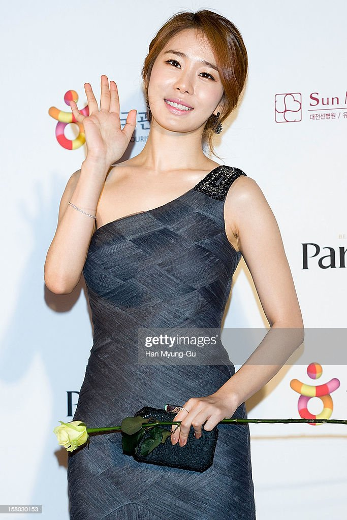 South Korean actress Yoo In-Na attends the 1st K-Drama Star Awards at Daejeon Convention Center on December 8, 2012 in Daejeon, South Korea.