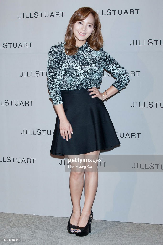 South Korean actress Yoo Jin attends during the presentation of <a gi-track='captionPersonalityLinkClicked' href=/galleries/search?phrase=Jill+Stuart+-+Fashion+Designer&family=editorial&specificpeople=10832333 ng-click='$event.stopPropagation()'>Jill Stuart</a> 2013 A/W collection at LG Fashion RAUM on September 3, 2013 in Seoul, South Korea.