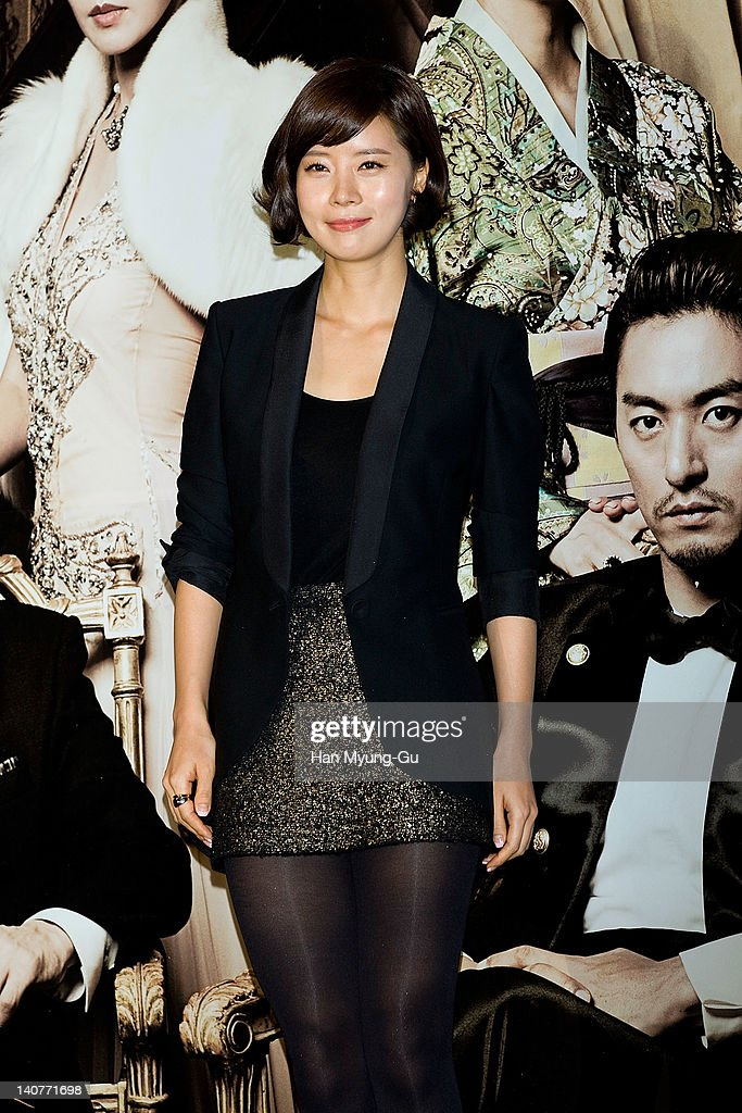 South Korean actress <a gi-track='captionPersonalityLinkClicked' href=/galleries/search?phrase=Yoo+Sun&family=editorial&specificpeople=3352472 ng-click='$event.stopPropagation()'>Yoo Sun</a> attends the 'Gabi' (Coffee) Press Screening at CGV on March 06, 2012 in Seoul, South Korea. The film will open on March 15 in South Korea.