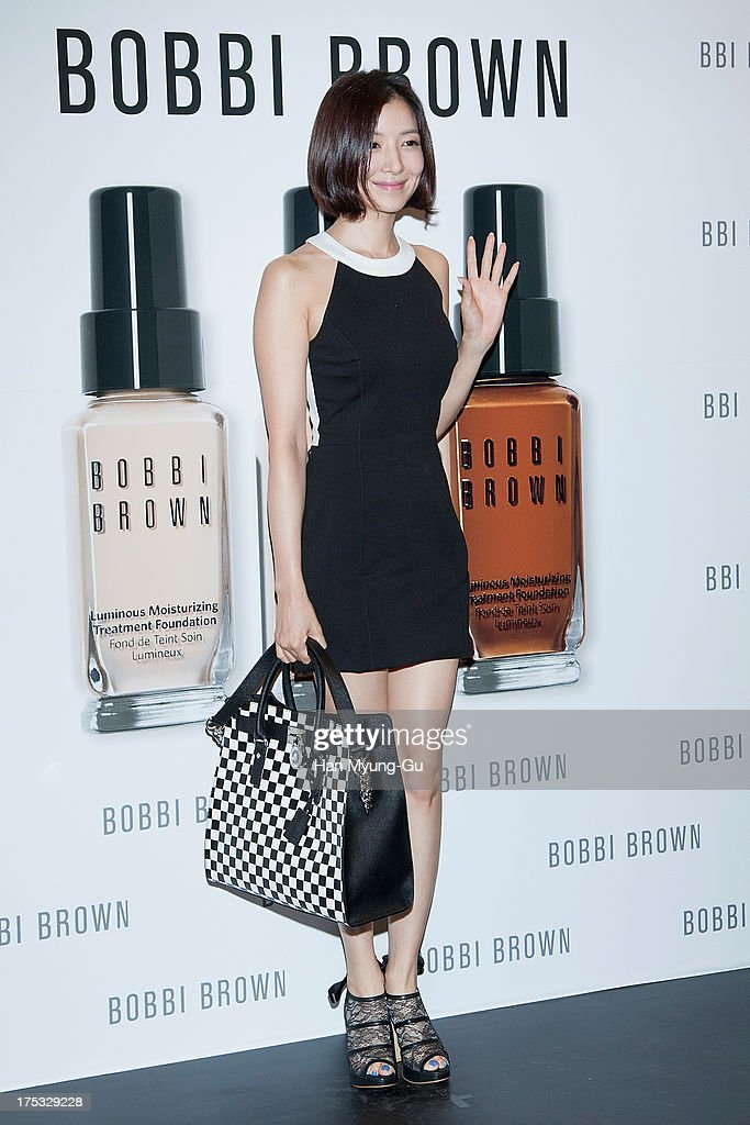 South Korean actress Yoon Se-Ah attends a promotional event for the 'Bobbi Brown' Pop Up Lounge Opening Party on August 2, 2013 in Seoul, South Korea.