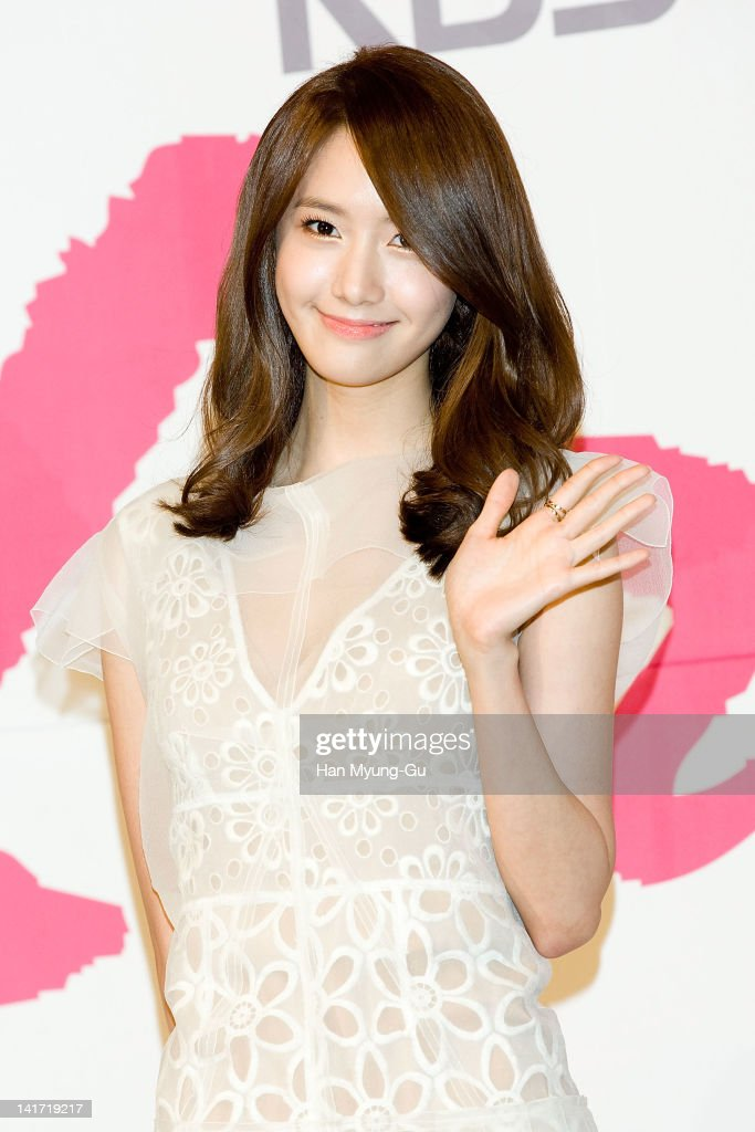 South Korean actress Yoona of K-Pop girl group Girls' Generation attends a press conference to promote KBS drama 'Love Rain' at Lotte Hotel on March 22, 2012 in Seoul, South Korea. The drama will open on March 26th in South Korea.