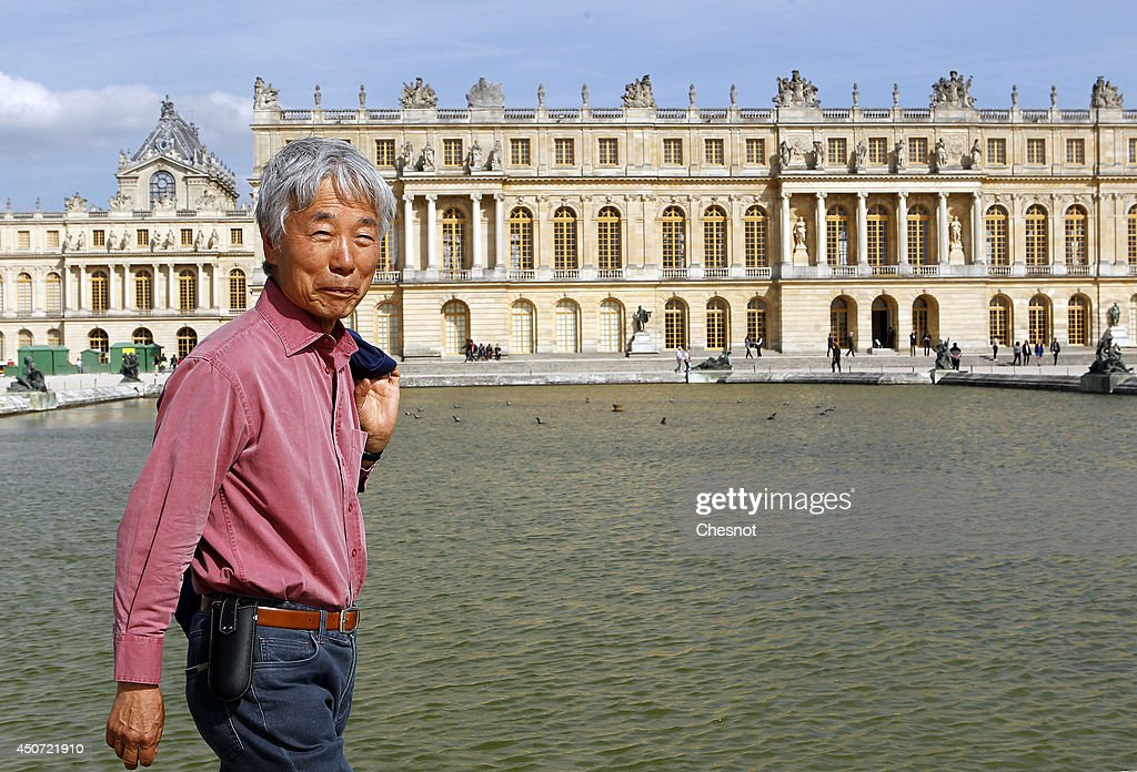 South Korean artist <a gi-track='captionPersonalityLinkClicked' href=/galleries/search?phrase=Lee+Ufan&family=editorial&specificpeople=8945134 ng-click='$event.stopPropagation()'>Lee Ufan</a> walks in the Versailles garden during the exhibition '<a gi-track='captionPersonalityLinkClicked' href=/galleries/search?phrase=Lee+Ufan&family=editorial&specificpeople=8945134 ng-click='$event.stopPropagation()'>Lee Ufan</a> Versailles' at the Chateau de Versailles on June 16, 2014 in Versailles, France. Painter and sculptor <a gi-track='captionPersonalityLinkClicked' href=/galleries/search?phrase=Lee+Ufan&family=editorial&specificpeople=8945134 ng-click='$event.stopPropagation()'>Lee Ufan</a>, 77, has created a variety of artworks made of stone and steel for an exhibition at the Chateau de Versailles, outside Paris. The exhibition opens from June 17 until November 02, 2014 at the Chateau de Versailles.