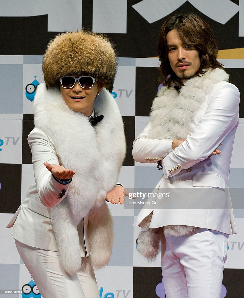South Korean boy band Norazo attend the 2011 MBC Korean Music Festival at Speedom on December 31, 2011 in Gyeonggi-do, South Korea.