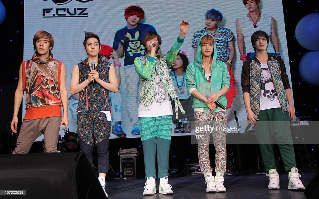 South Korean boy group F.CUZ held a concert on Saturday November 24, 2012 in Taipei, Taiwan, China.