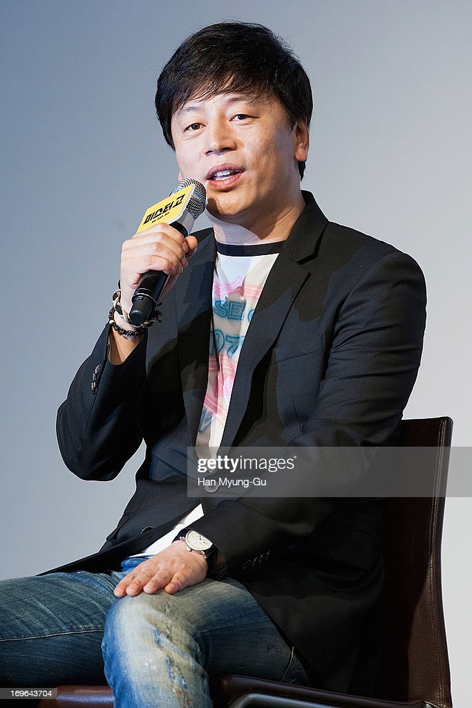 South Korean director Kim Yong-Hwa attends during a promotional event for the 'Mr. Go' Showcase at the Westin Chosun Hotel on May 29, 2013 in Seoul, South Korea. The film will open on July in South Korea.