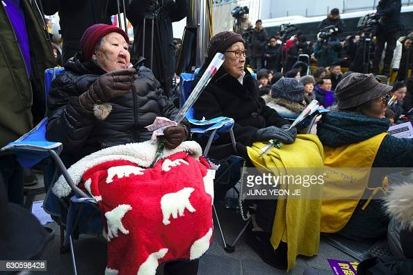 the suffering of the korean comfort women in world war ii Comfort women sexual slavery in the japanese military during world war ii yoshimi yoshiaki translated by suzanne o'brien.
