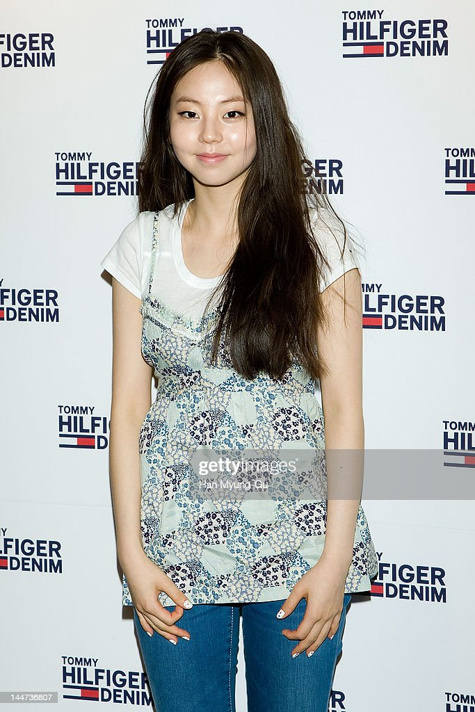 South Korean K-Pop idol group singer Ahn So-Hee of <a gi-track='captionPersonalityLinkClicked' href=/galleries/search?phrase=Wonder+Girls&family=editorial&specificpeople=5637005 ng-click='$event.stopPropagation()'>Wonder Girls</a> attends the Tommy Hilfiger flagship store opening at Myeong-Dong on May 18, 2012 in Seoul, South Korea.