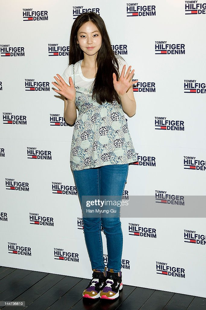 South Korean K-Pop idol group singer Ahn So-Hee of Wonder Girls attends the Tommy Hilfiger flagship store opening at Myeong-Dong on May 18, 2012 in Seoul, South Korea.