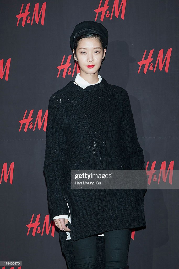 South Korean model Kang So-Young attends the H&M Autumn Collection Pre-Shopping Party at H&M Gangnam Store on September 3, 2013 in Seoul, South Korea.