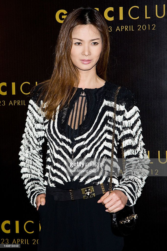 South Korean model Lee So-Ra attends the Reopening of Gucci's Seoul Flagship Store on April 23, 2012 in Seoul, South Korea.