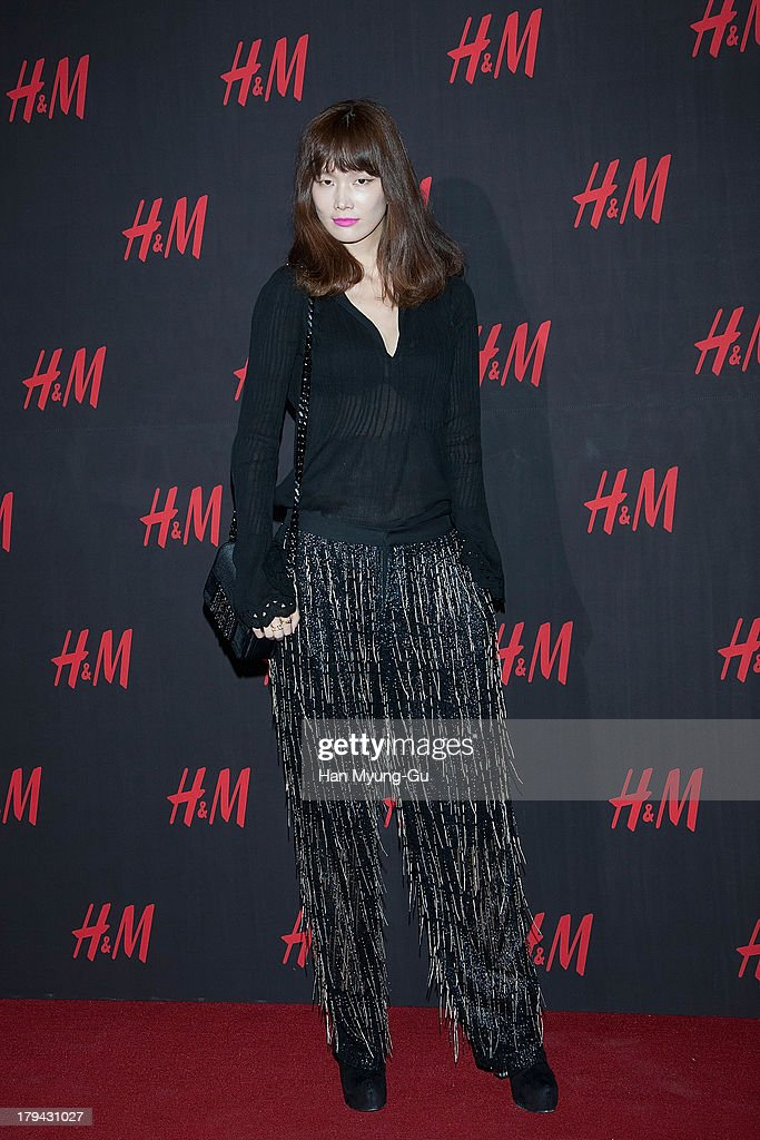 South Korean model Song Kyung-Ah attends the H&M Autumn Collection Pre-Shopping Party at H&M Gangnam Store on September 3, 2013 in Seoul, South Korea.