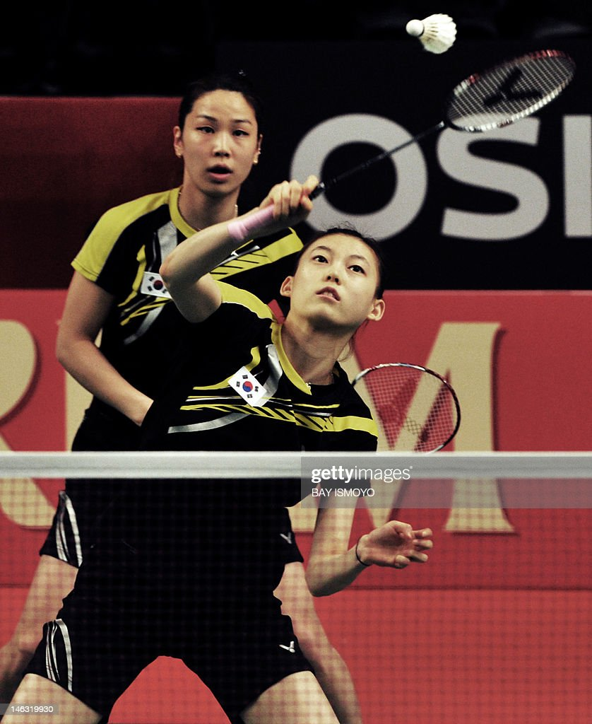 South Korean pair Jung Kyung Eun L and