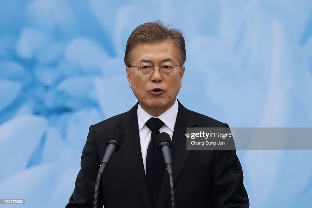 South Korea Commemorates 62nd Memorial Day