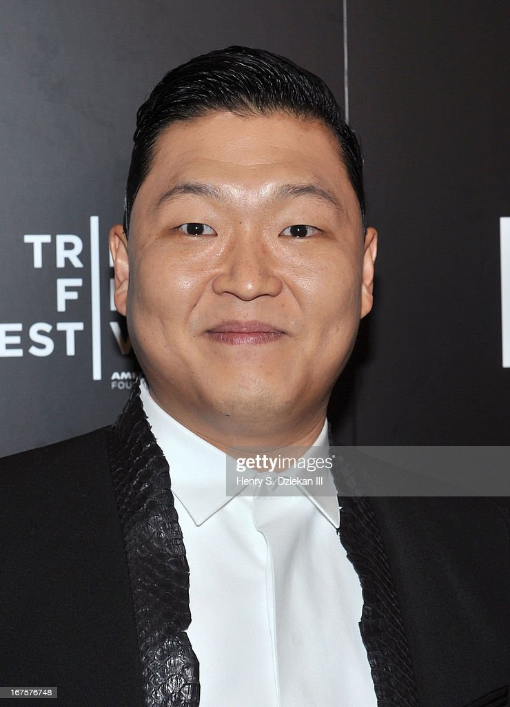 South Korean Rapper Psy attends the Tribeca Disruptive Innovation Awards during the 2013 Tribeca Film Festival at NYU Paulson Auditorium on April 26, 2013 in New York City.