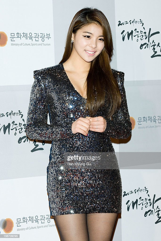 South Korean singer Ailee attends during the 2012 Korea Popular Culture Art Awards at Olympic Hall on November 19, 2012 in Seoul, South Korea.