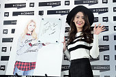 South Korean singer and actress Kwon Yuri of South Korean girl group Girls' Generation attends HCONNECT activity on October 31 2015 in Taipei Taiwan...