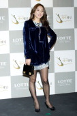South Korean singer Bada attends the wedding of Sun of Wonder Girls at Lotte Hotel on January 26 2013 in Seoul South Korea