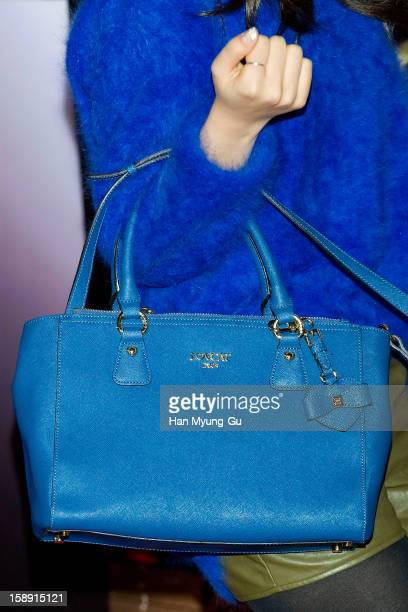 South Korean singer Baek AYeon attends the 'My Little Hero' VIP Screening at CGV on January 3 2013 in Seoul South Korea The film will open on January...
